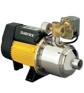 Davey Hm160 15p Pressure Pump 1 5kw 240v 50hz 1ph Incl